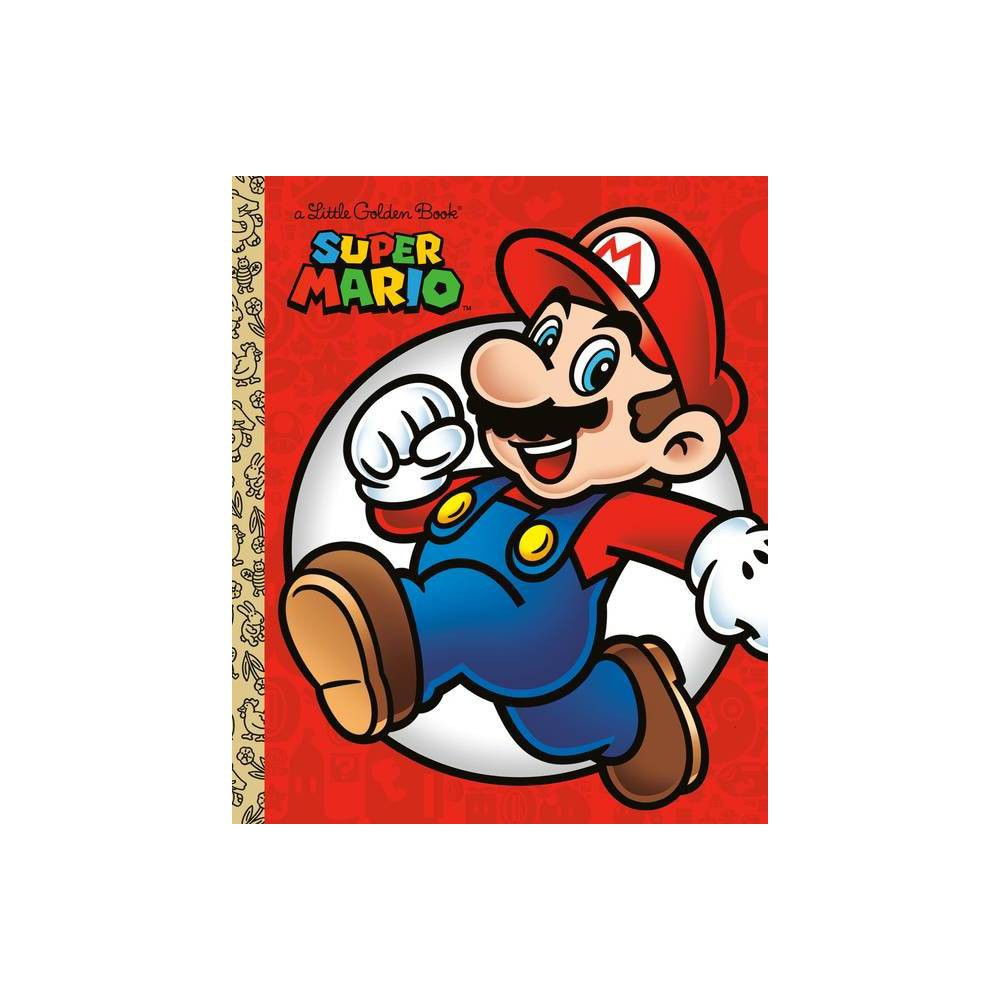 Super Mario Little Golden Book Nintendo By Steve Foxe Hardcover