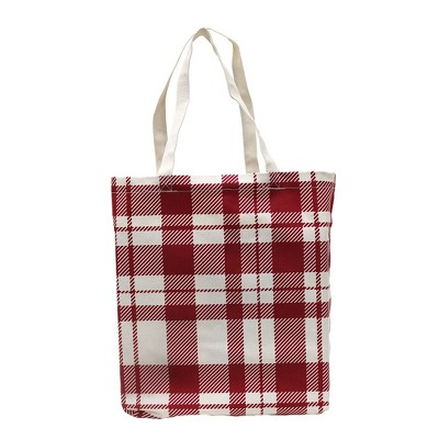 Reusable Canvas Tote - Red
