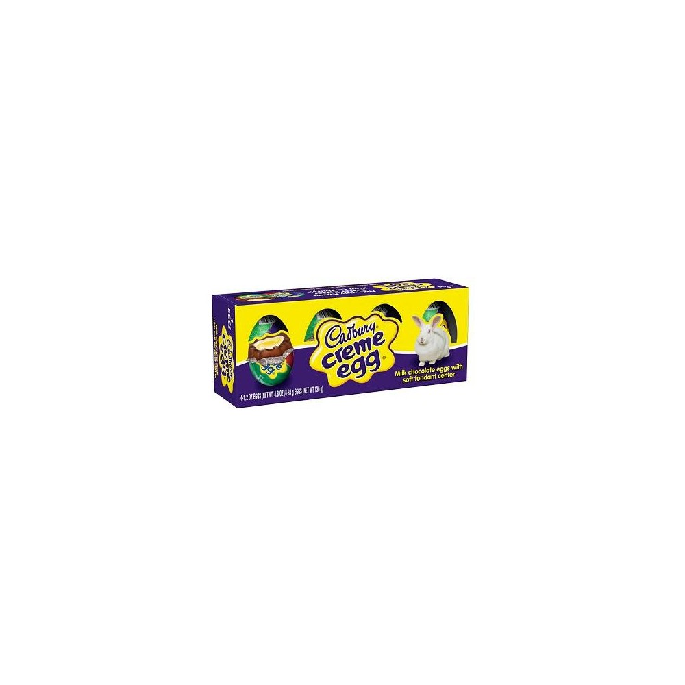 Cadbury Creme Easter Egg - 4ct/4.8oz