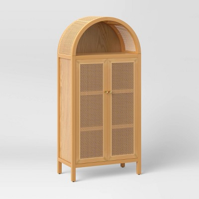 Arched Wood Cabinet Brown - Opalhouse™