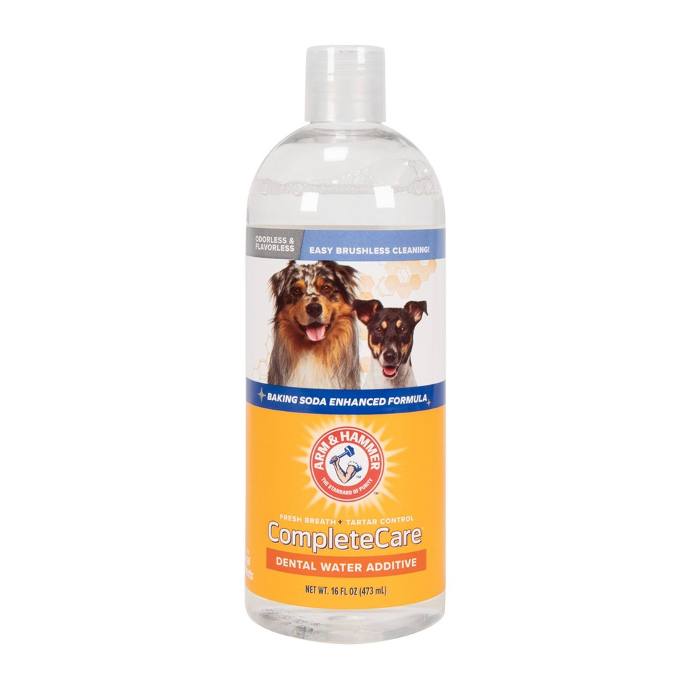 Arm 38 Hammer Water Additive Dog Toothbrush