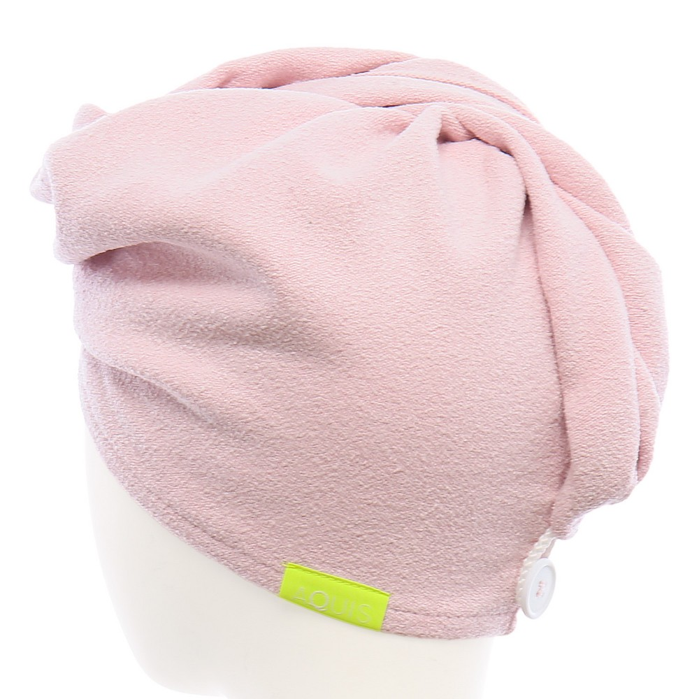 Image of Aquis Performance Drying Technology Hair Turban - 1ct, Pink