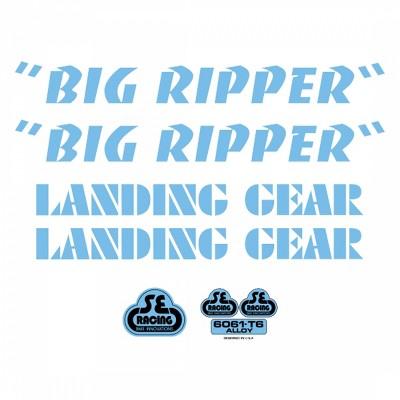Se Bikes Big Ripper Decal Set Sticker/Decal