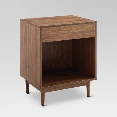 Liam Record Storage End Table Walnut - Crosley