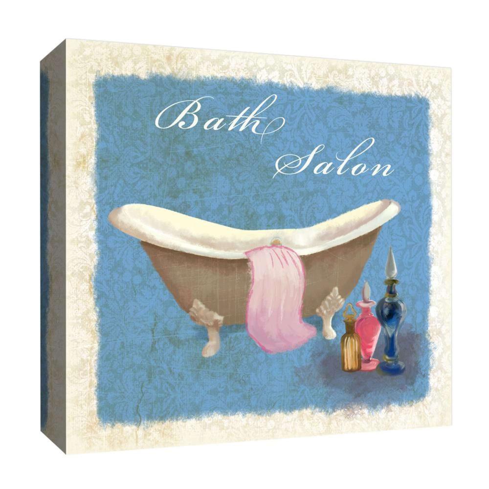 16 34 X 16 34 Bath Salon I Decorative Wall Art Ptm Images