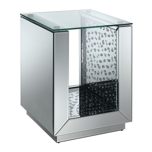 Nelson End Table Silver - ioHOMES - image 1 of 3