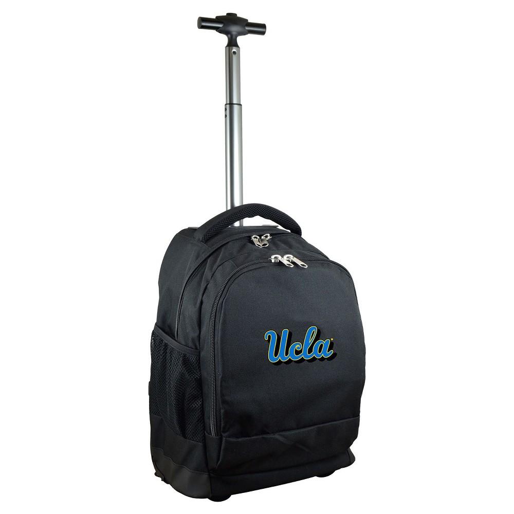 NCAA Ucla Bruins Black Premium Wheeled Backpack