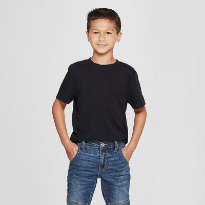 view Boys' Short Sleeve T-Shirt - Cat & Jack on target.com. Opens in a new tab.
