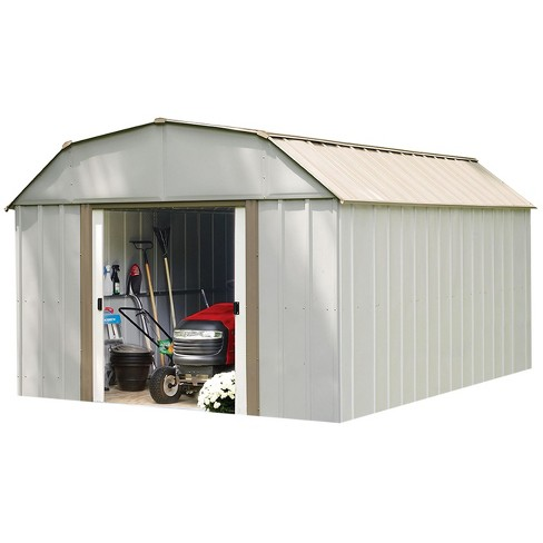 Lexington 10 X 14 Steel Storage Shed Arrow Storage Products Target - Building-storage-sheds