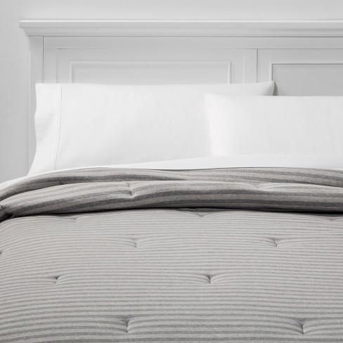 Jersey Comforter - Room Essentials™ - image 1 of 5