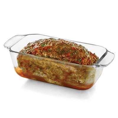"Libbey Baker's Basics 9""x5"" Glass Loaf Dish"