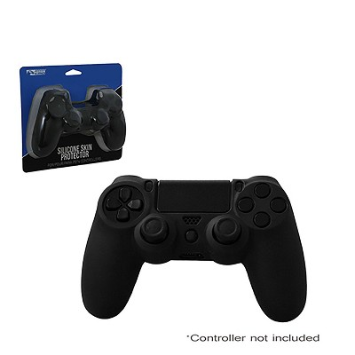 KMD Controller Silicone Grip Compatible with PS4 Black