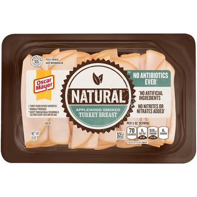 Oscar Mayer Natural Applewood Smoked Turkey Breast - 8oz