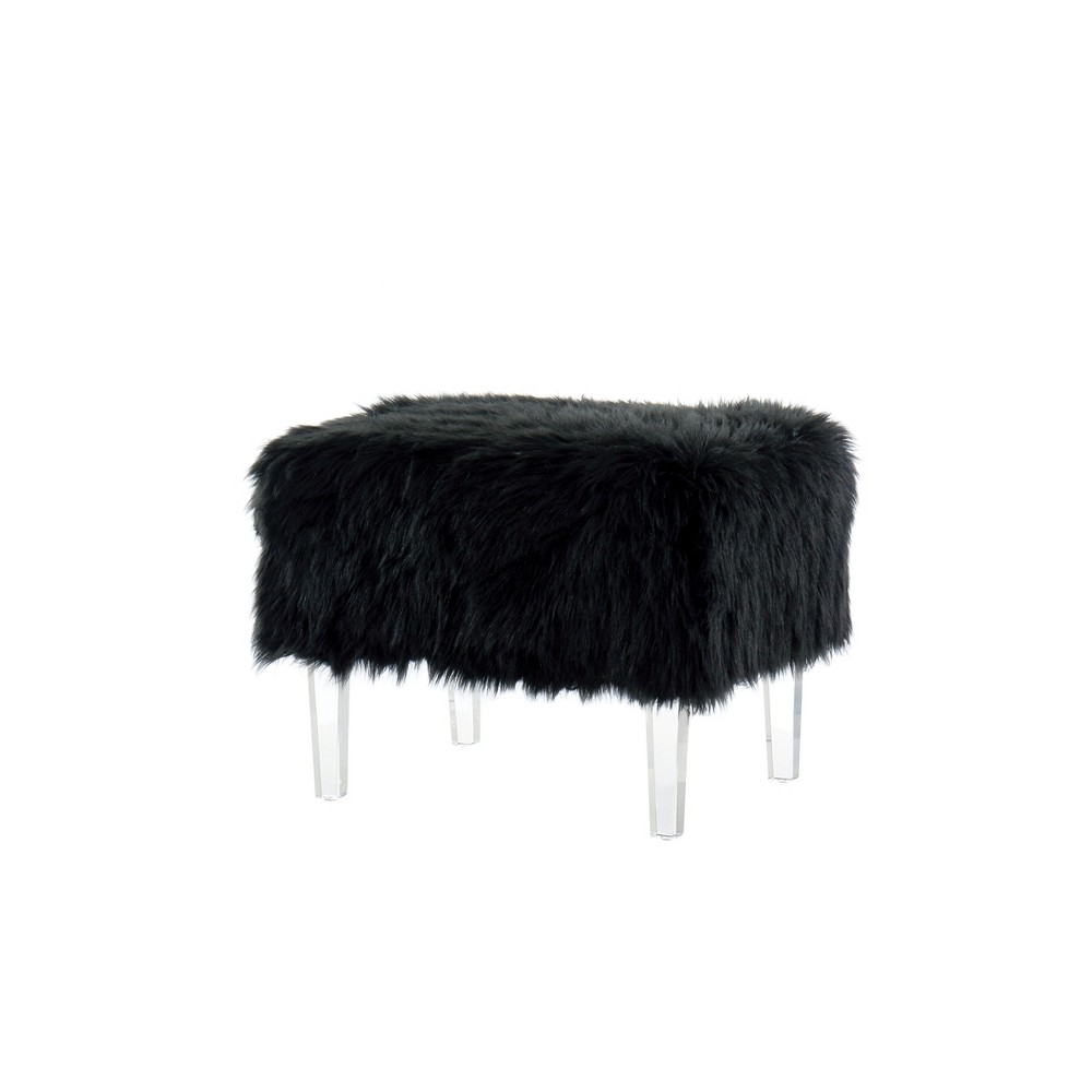 Ottomans Galaxy Black - Homes: Inside + Out