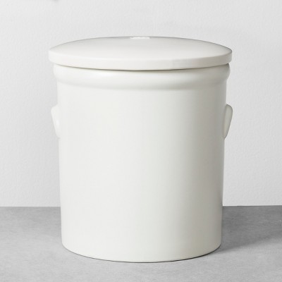 Food Storage Canister Large White - Hearth & Hand™ with Magnolia