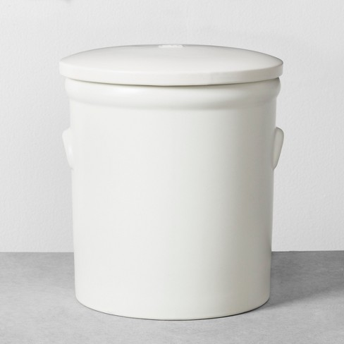 Food Storage Canister White - Hearth & Hand™ with Magnolia - image 1 of 2