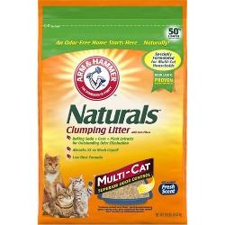 Arm & Hammer Multi-Cat Naturals Cat Litter - 18lbs