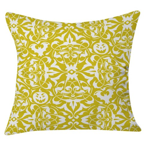 """White Heather Dutton Gothique Glow Throw Pillow (20""""x20"""") - Deny Designs® - image 1 of 3"""