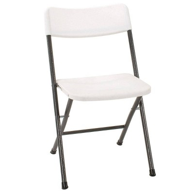 4pk Resin Folding Chair with Molded Seat White Speckle - Room & Joy