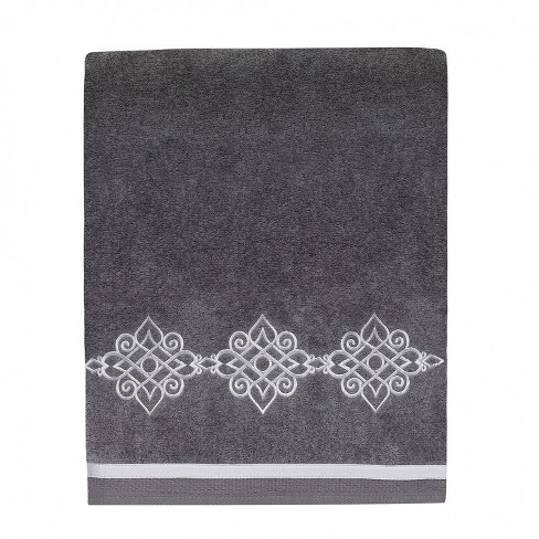 Avanti Riverview Bath Towel - Nickel Gray - image 1 of 1
