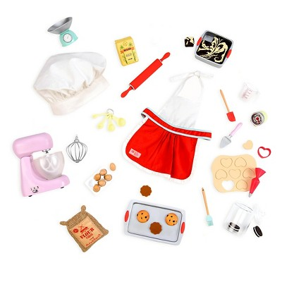 Our Generation Master Baker Doll Accessory Set
