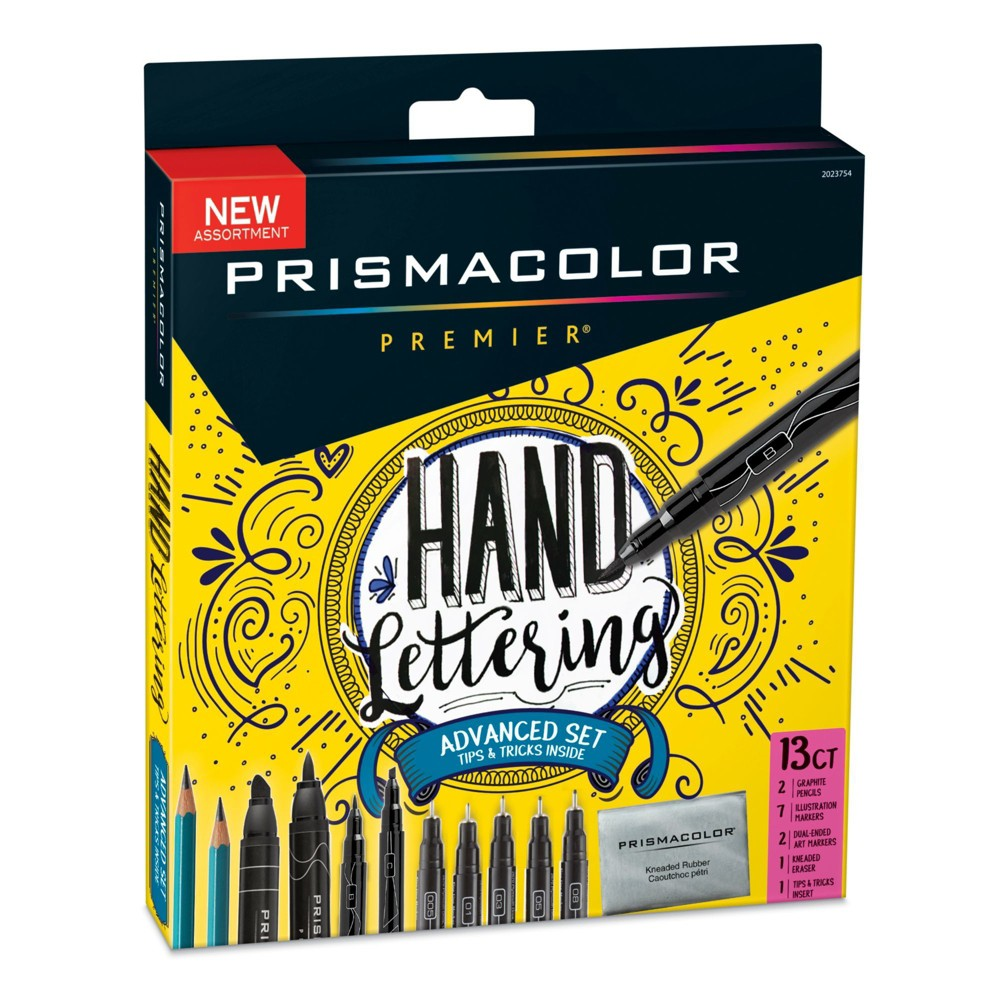 Image of Hand Lettering Advanced Set 13pc - Prismacolor, Black
