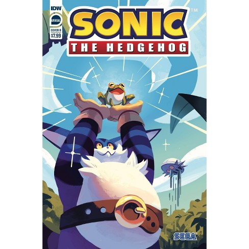 Idw Sonic The Hedgehog Annual 2020 Comic Book Cover B Nathalie Fourdraine Target
