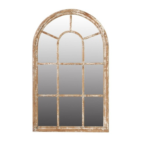 Large ADA Arched Mirror White - A&B Home - image 1 of 1