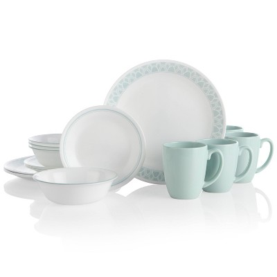 Corelle Classic 16pc Glass Delano Dinnerware Set