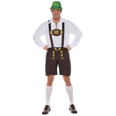 Adult Lederhosen Halloween Costume