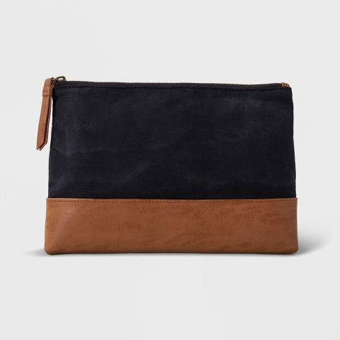 Pouch - Goodfellow & Co™ Navy - image 1 of 3