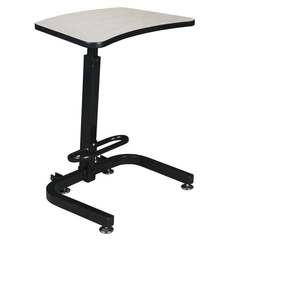 Brody Sit Stand Desk Maple - Niche, Brown