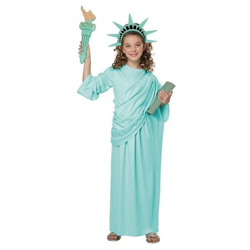 California Costumes Statue of Liberty Child Costume - image 1 of 1