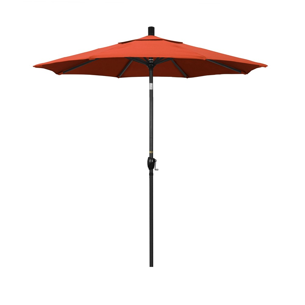 7.5' Aluminum Push Tilt Patio Umbrella - Sunset