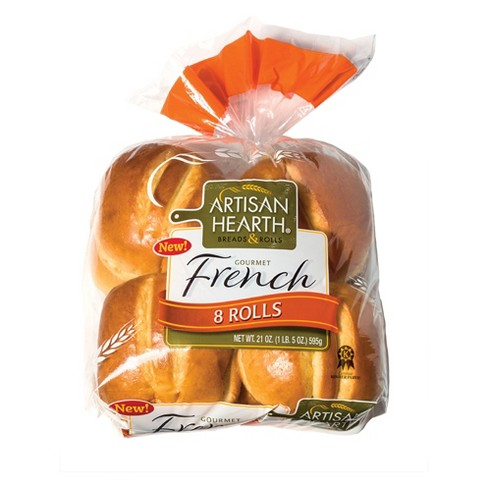 Artisan Hearth French Rolls - 8ct/21oz - image 1 of 1