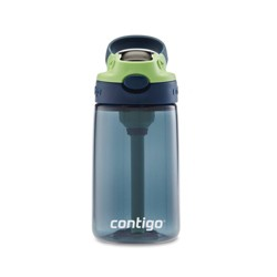 Contigo 14oz Plastic Kids Autospout Straw Water Bottle