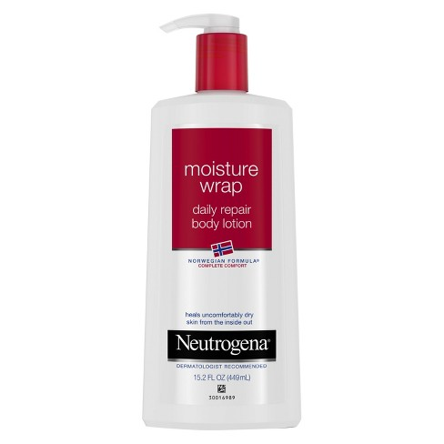 Neutrogena® Norwegian Formula Moisture Wrap Daily Repair Body Lotion - 15.2oz - image 1 of 3