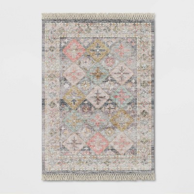 5'x7' Monarch Geometric Tile Printed Persian Rug - Opalhouse™