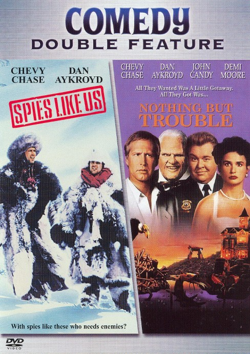 Spies Like Us/Nothing but Trouble (dvd_video) - image 1 of 1