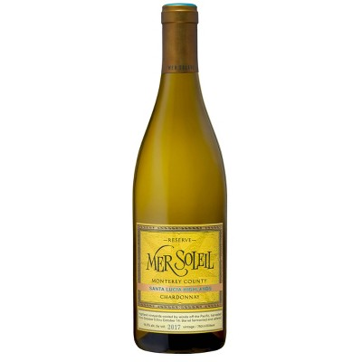 Mer Soleil Santa Lucia Highlands Chardonnay White Wine - 750ml Bottle
