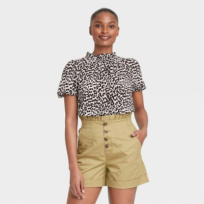 Women's Puff Elbow Sleeve Blouse - Who What Wear™