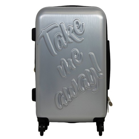 "The Macbeth Collection 29"" Take me Away Hardside Spinner Suitcase - Silver - image 1 of 5"