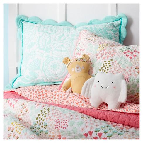 Floral Bear Throw Pillow 10 5 X4 25 Light Brown Target