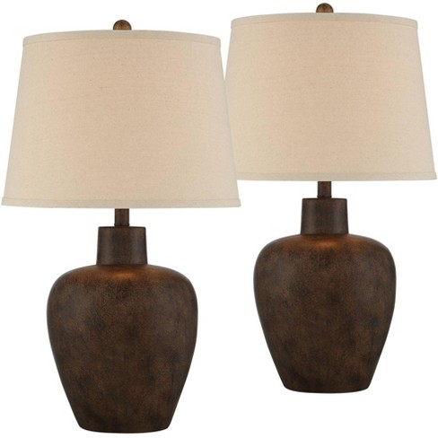 Regency Hill Farmhouse Rustic, Rustic Lamps For Living Room