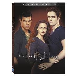 The Twilight Saga: 5 Movie Collection (DVD)
