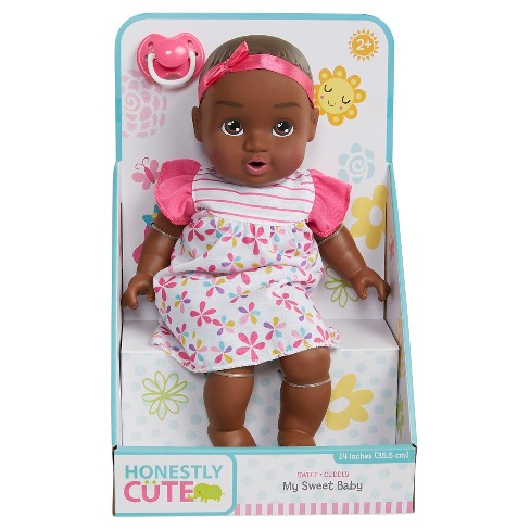 "Honestly Cute My Sweet Baby 14"" Basic Baby - African American - image 1 of 4"