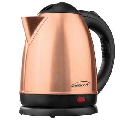 Brentwood 1.2L Stainless Steel Electric Tea Kettle