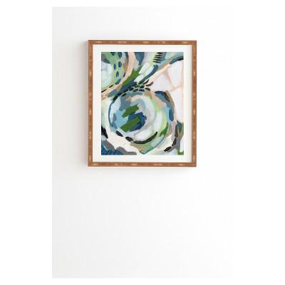 Laura Fedorowicz Greenery Framed Wall Art 14  x 16.5  - Deny Designs