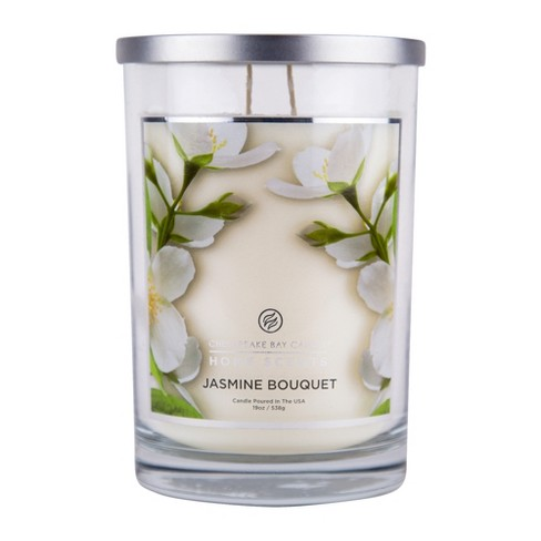 Jar Candle Jasmine Bouquet Home Scents by Chesapeake Bay Candles - image 1 of 1