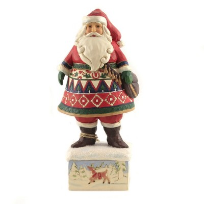 "Jim Shore 10.25"" Feeling Festive In The Frost Heartwood Creek  -  Decorative Figurines"